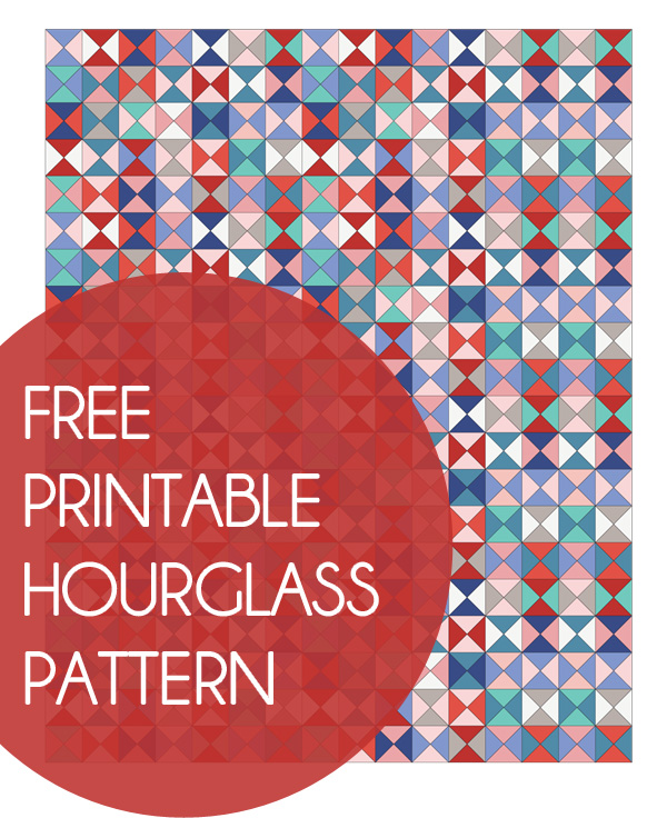 How to make Hourglass Quilt Blocks