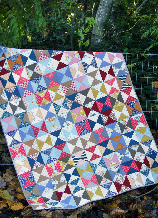 Free Hourglass Quilt Tutorial