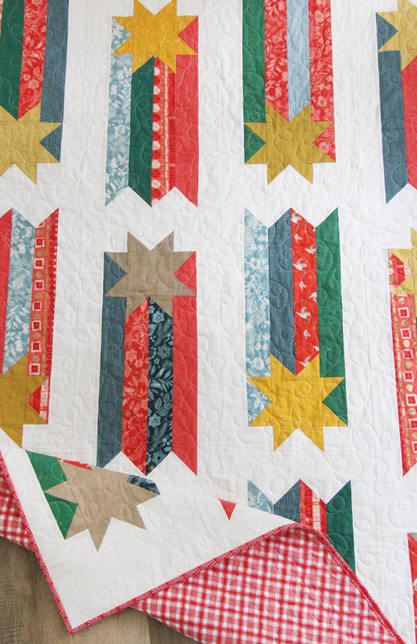 Wish, Shooting Star Quilt Pattern
