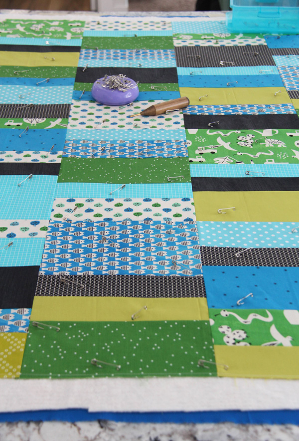 Fat Quarter Shuffle pattern, beginner friendly