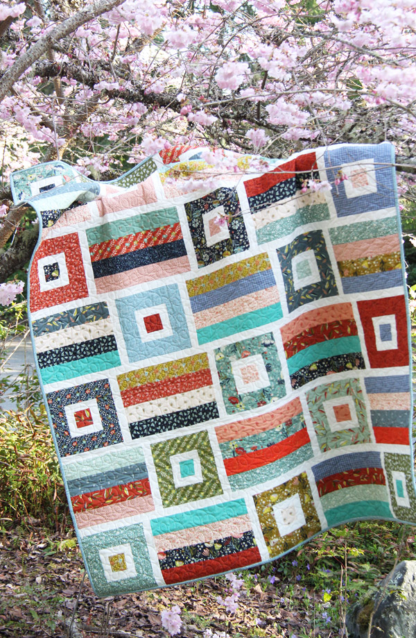 Avenue Quilt Pattern, Jelly Roll pattern