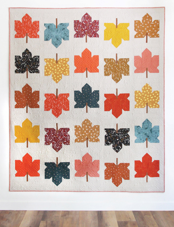 Fall Leaves Quilt Pattern